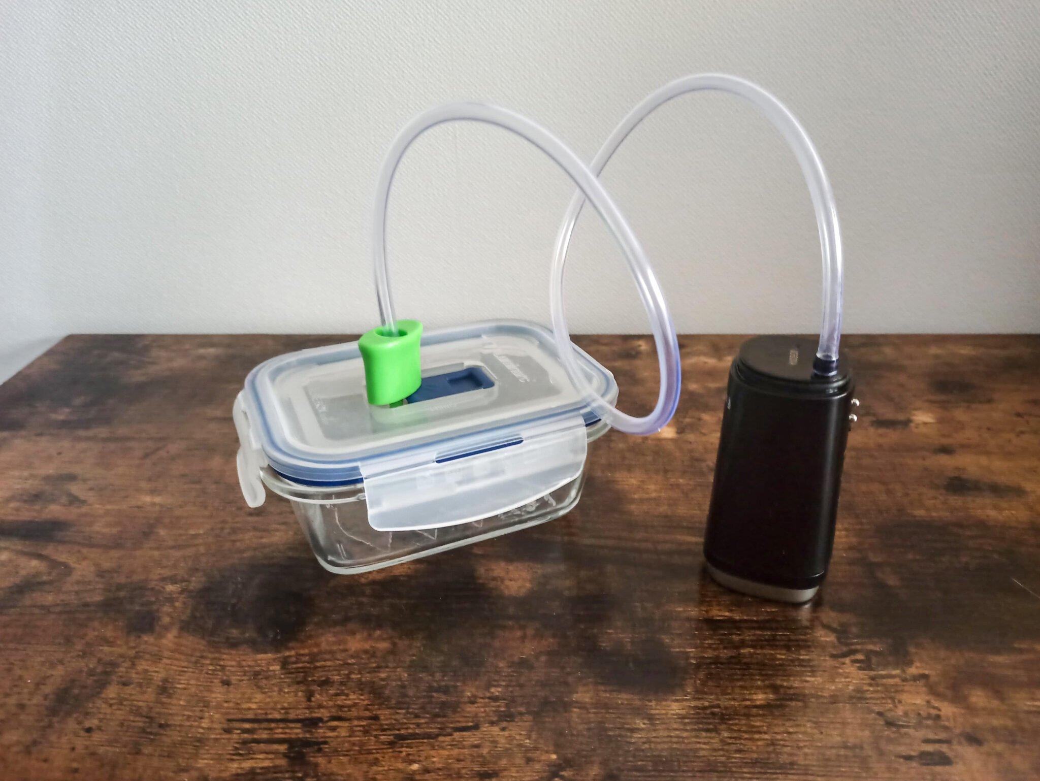 Système sous vide «low-cost» – anti bulles – pour la résine !